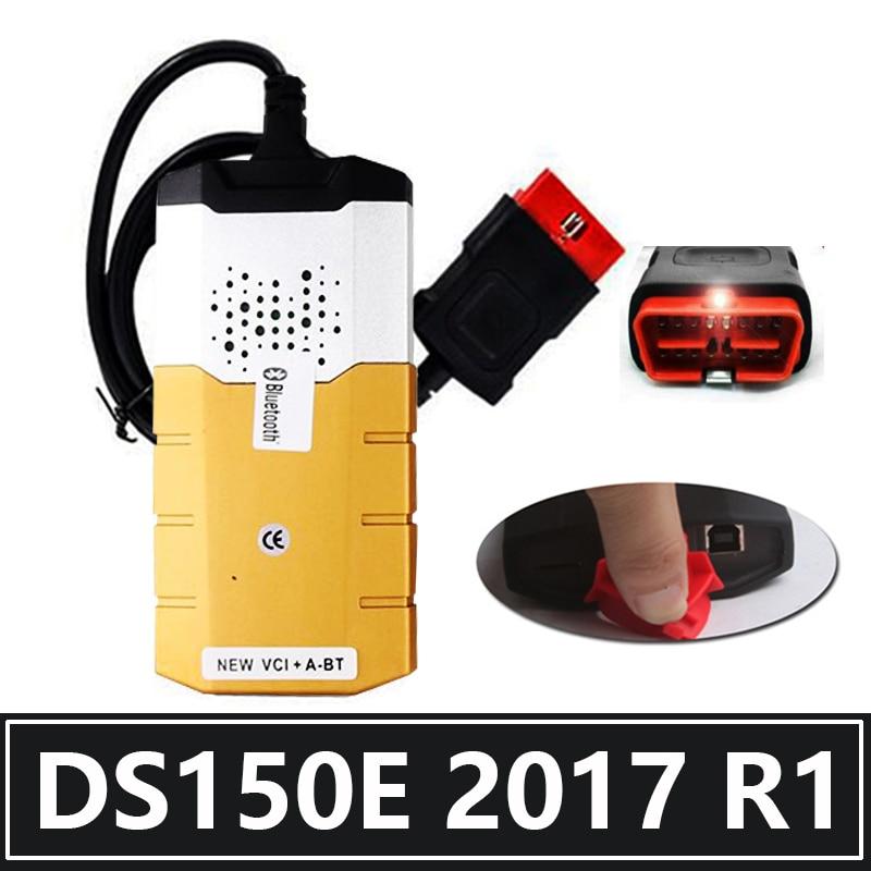 2017 R3 OBD2 2020 новейший Дельфин Ds150e tcs Bluetooth VCI vd диагностический инструмент для ремонта obd2 сканер для автомобиля грузовика Бесплатная Активация