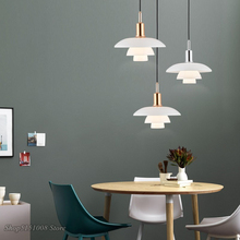 Nordic Designer Pendant Lights H3/4 Aluminum Loft Hanging Lamp for Living Room Bedroom Kitchen Home Decor Suspension Luminaire
