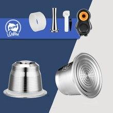Капсулы многоразового использования для кофе iCafilas совместимы с капсулами Nespresso Inissia capsula nespresso reutilzable