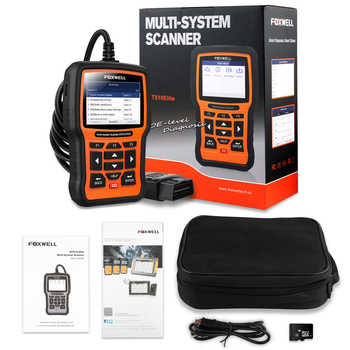 FOXWELL NT510 Elite Full System OBD2 Scanner ABS SAS AT Airbag DPF BMS EPB Oil Reset OBD 2 Code Reader Auto Car Diagnostic Tool