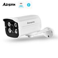 AZHISH la più recente telecamera IP H.265 4MP Face detection 4PCS ARRAY IR IP66 impermeabile CCTV P2P Bullet Security Camera FULL HD 4.0 MP