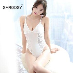Эротическое белье SAROOSY, кружевное, с глубоким треугольным вырезом, интимные игрушки для женщин, сексуальное нижнее белье, модные, с открытым ...