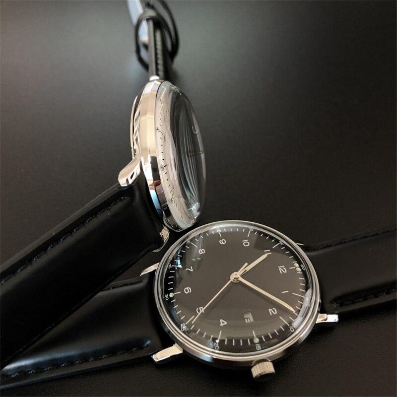 do Aço Inoxidável Relógios de Quartzo Relógio