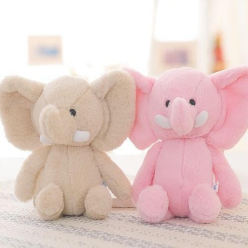20 см Слон чучела животных кукла, новейшие детские мальчики девочки милые животные мягкая плюшевая игрушка мини Слон чучела животных кукла п...
