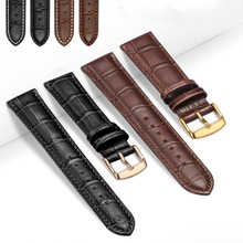 Универсальный сменный кожаный ремешок для часов, кожаный ремешок для часов, подходит для Longines tiansho Madu ArmaniCKCasio 19mm21mm, ремешок для часов