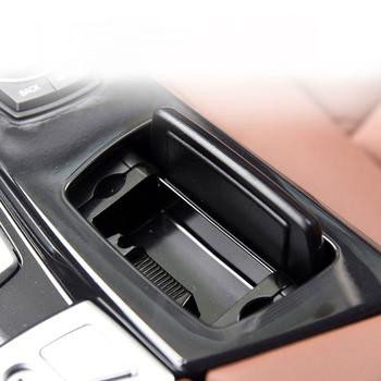 Popielniczki samochodowe konsola główna samochodu popielniczka F10 montaż popielniczka pokrowiec na Bmw serii 5 F10 F11 F18 2010-2017 czarny ABS tanie i dobre opinie Tefanball CN (pochodzenie) Wielofunkcyjne For BMW F10 F11 F18 5 Series