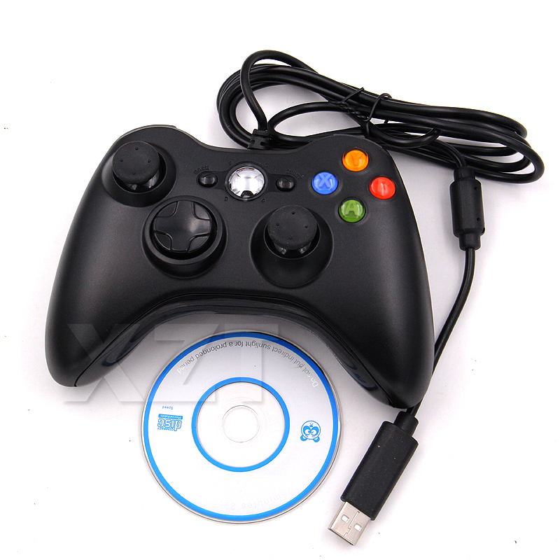 Проводной USB геймпад с вибрацией, джойстик для ПК, контроллер для Windows 7/8/10, не для Xbox 360, игровой джойстик