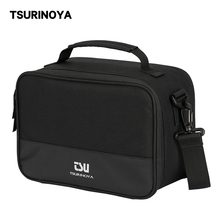 TSURINOYA Multi-functional Fishing Reels Bag Water Resistant Removable Partition Compartments Storage Reels Container
