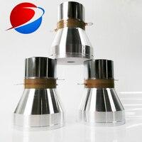Três Freqüência Ultra-sônica Transdutor KHz 20/40 KHz/60 KHz 120W Multi Freqüência Piezoelectrica Ultrasound Transdutor de Limpeza