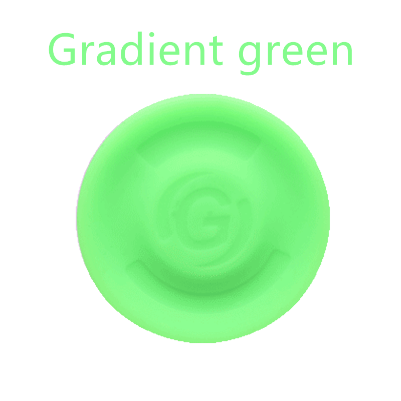 1 Parent-child Interactive Sports Circular Gradient Luminous Silicone Disc Game For Children Outdoor Entertainment And Sports