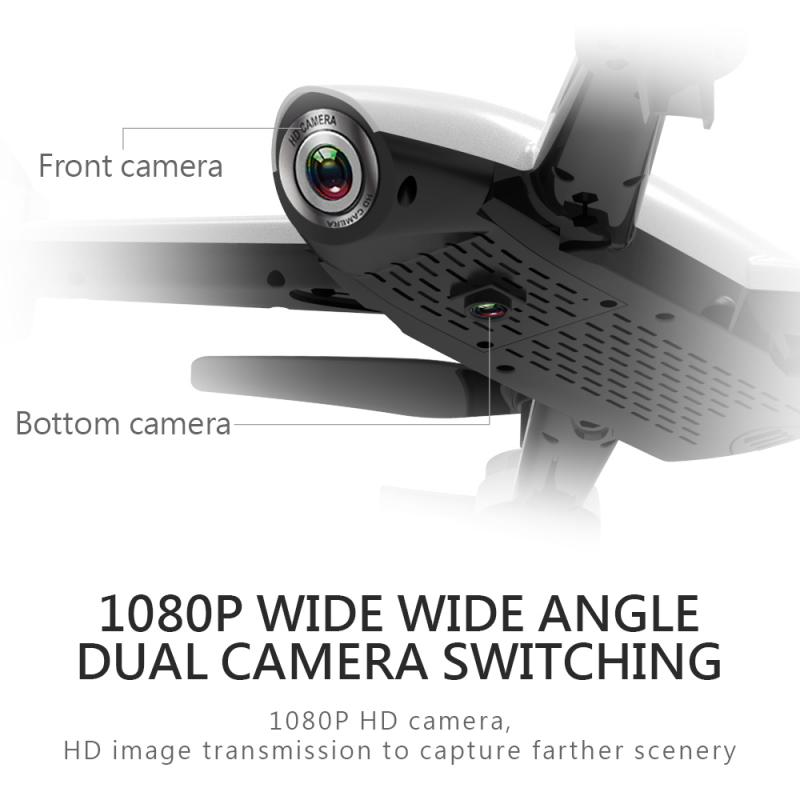 HD 4K Optical Flow Camera Drone 1080P Dual Camera HD Aerial Video RC Quadcopter Kid Toys Adult Gift Dropshipping