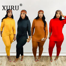Xuru осенне зимний Новый Стильный комбинезон женский костюм