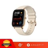 Смарт-часы Amazfit GTS, глобальная версия, 5ATM, водонепроницаемые часы для плавания, 14 дней, батарейка, управление музыкой для Xiaomi IOS, 2019