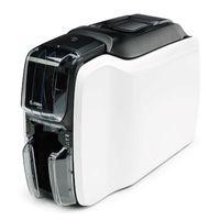 Zebra yüksek performanslı tek taraflı kart yazıcı ZC100 hızlı basit PVC kimlik kartı yazıcı