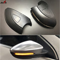 Динамический сигнал поворота LED боковое крыло зеркало заднего вида Индикатор мигалка повторитель света Лампа для VW GOLF 6 MK6 GTI R32 08-14 Touran