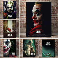 Joker Poster Drucke Leinwand Malerei Joaquin Phoenix Film Poster DC Comic Kunst Wand Malerei Bilder für Wohnzimmer Wohnkultur