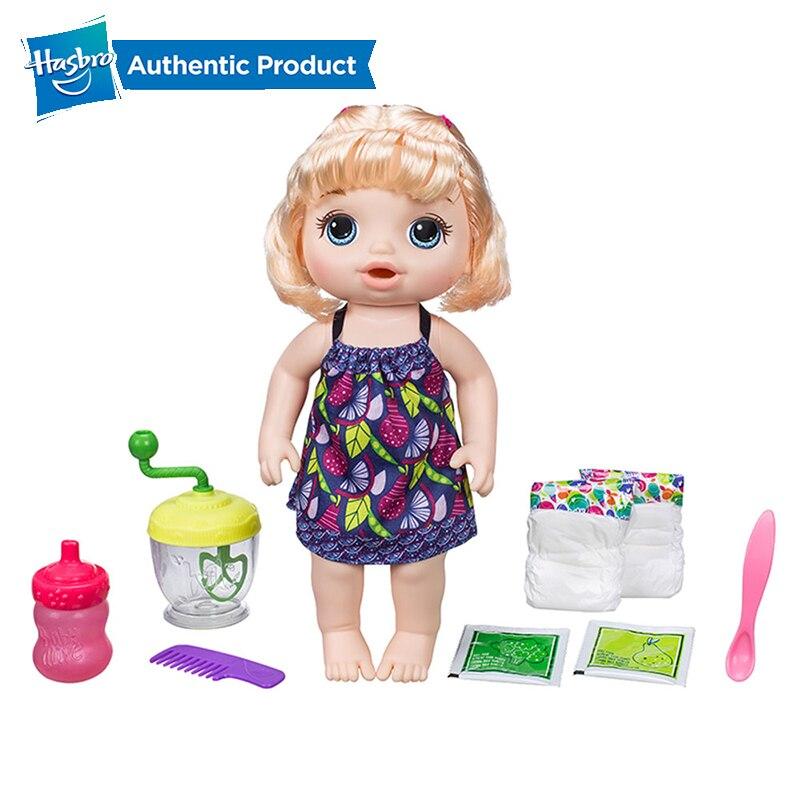 Oyuncaklar ve Hobi Ürünleri'ten Bebekler'de Hasbro Bebek Canlı Tatlı Spoonfuls Bebek Kawaii Elbise Kız Bebekler Dolması Güzel Kız oyuncak bebekler Yumuşak Insansı Bebekler Çocuk Hediye'da  Grup 1