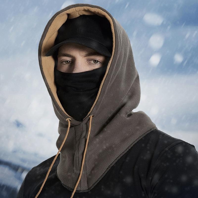 Winter Keep Warm Ski Face Mask Scarf Windproof Cycling Cap Thermal Fleece Skiing Mask Snowboard Shield Hat Skating Bike Mask