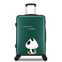 NEW high quality 20/22/24/26 inch girl students trolley case Travel spinner luggage Women rolling suitcase fashion Boarding box