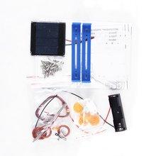 Детская игрушка пластик Diy ручной работы автомобиль на солнечной энергии в сборе автомобиль гибридный автомобиль 6
