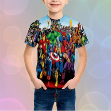 LBG new 3D printing hulk childrens shirt fashion casual boy girl sweatshirt baby t-shirt