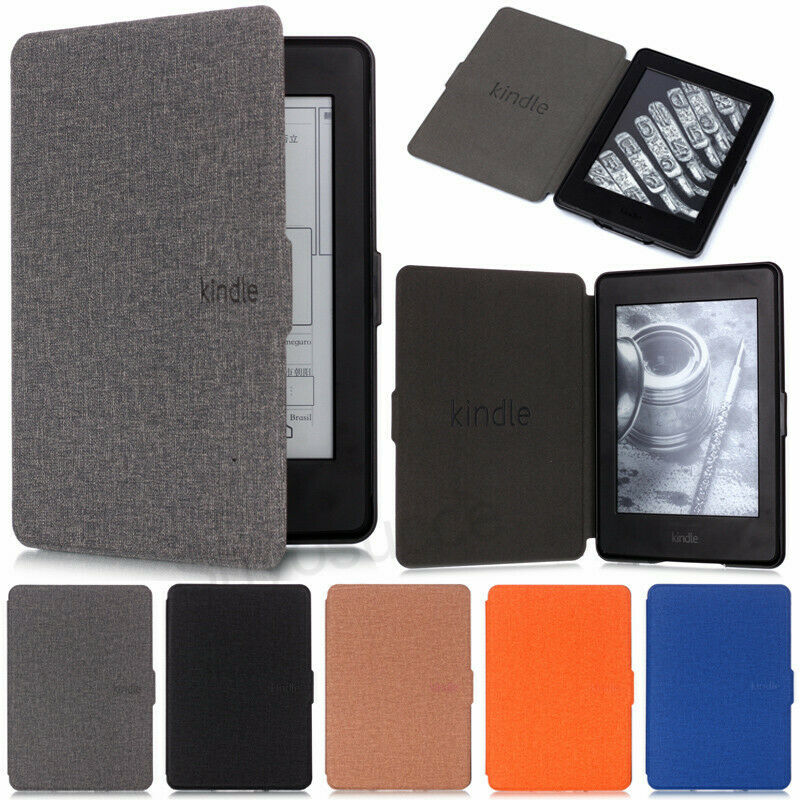 For Amazon Kindle Paperwhite 4 10th 2019 658 J9G29R Ultra Slim PU Leather Flip Case Smart Shockproof Cover Travel Portable