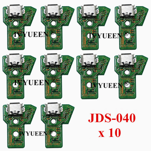 Image 5 - 10 pcs JDS 055 040 030 011 USB Charging Port Socket Board For Sony PlayStation 4 PS4 DS4 Pro Slim Controller Charger PCB Board