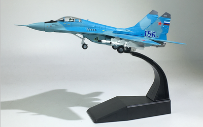 Jason TUTUAircraft Plane Model 1:100 Russian Air Force MiG-29 Airplane Alloy Model Diecast 1:100 Metal Planes