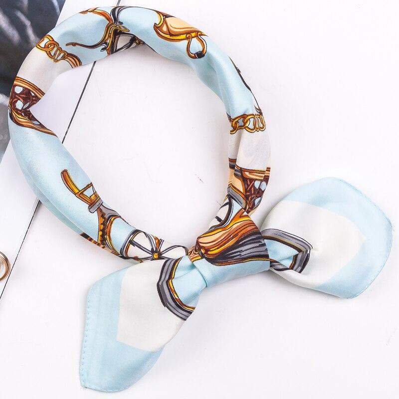 New Style Women's Bandana Neckerchief Neck Scarves For Sleeping Lady Handbag Wraps Head Scarf