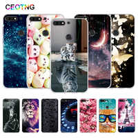 TPU Case for Huawei Y7 Prime 2018 Case Painted Silicone Cover for Huawei Y7 2018 Funda for huawei Y7 Pro 2018 Phone Cases