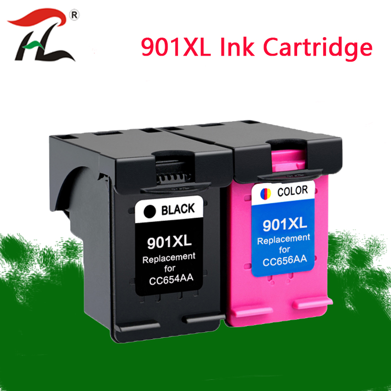 YLC 901XL Cartridge For Hp 901 Hp901 Xl Ink Cartridge For Hp Officejet 4500 J4500 J4540 J4550 J4580 J4640 J4680 Printer