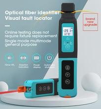 Identifiant de Fiber optique, détecteur avec localisateur de défauts visuels 10mw intégré GPON EPON FTTH
