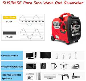 SUSEMSE Ultra-quiet outdoor Mini HOME 2.3KW Digital Inverter Generator Gasoline