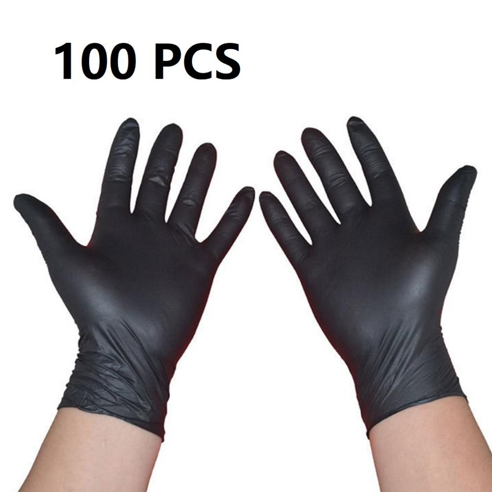 100PCS/SET Household Cleaning Washing Disposable Mechanic Gloves Laboratory Nail Art Anti-Static Gloves