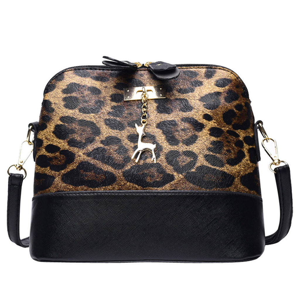 20 Fashion Leopard Print Crossbody Bags For Women Fawn Pendant Shell Luxury Handbags Women Designer Shoulder Bag Messenger Bag Shoulder Bags Aliexpress