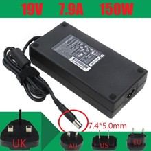 100% Original 19V 7.89A 7.4*5.0mm 150W Laptop AC Adapter for HP
