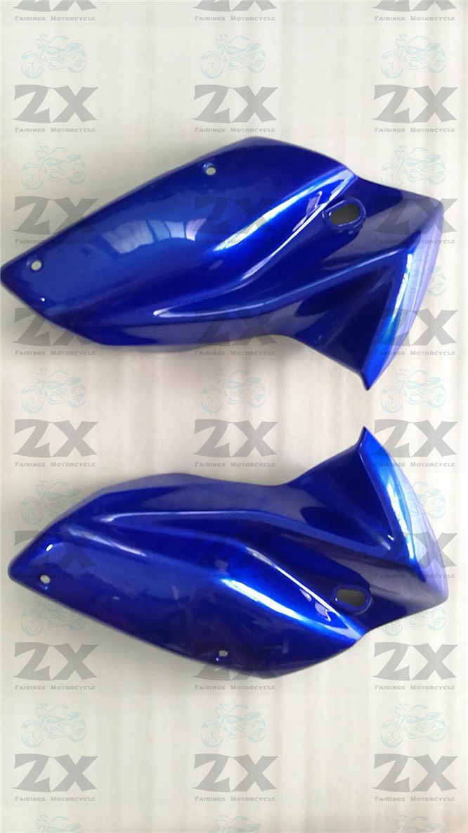 A Pair Motorcycle Fairing Kits For Kawaski Z750s 2004 2005 2006 2007 Head ABS Plastic Kit Compression No Injection