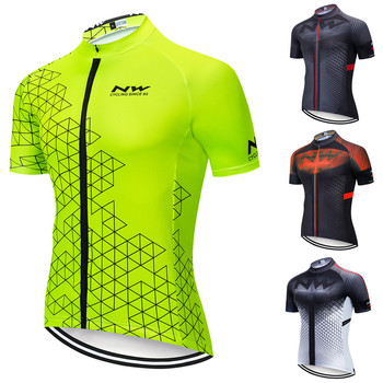 2020 NW Northwave Men's Cycling Jerseys Short Sleeve Bike Shirts MTB Bicycle Jeresy Cycling Clothing Wear Ropa Maillot Ciclismo