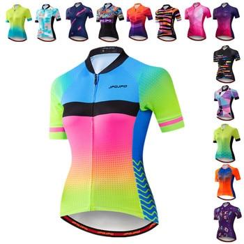 JPOJPO-Camiseta de Ciclismo para Mujer, ropa de verano para Ciclismo de montaña...