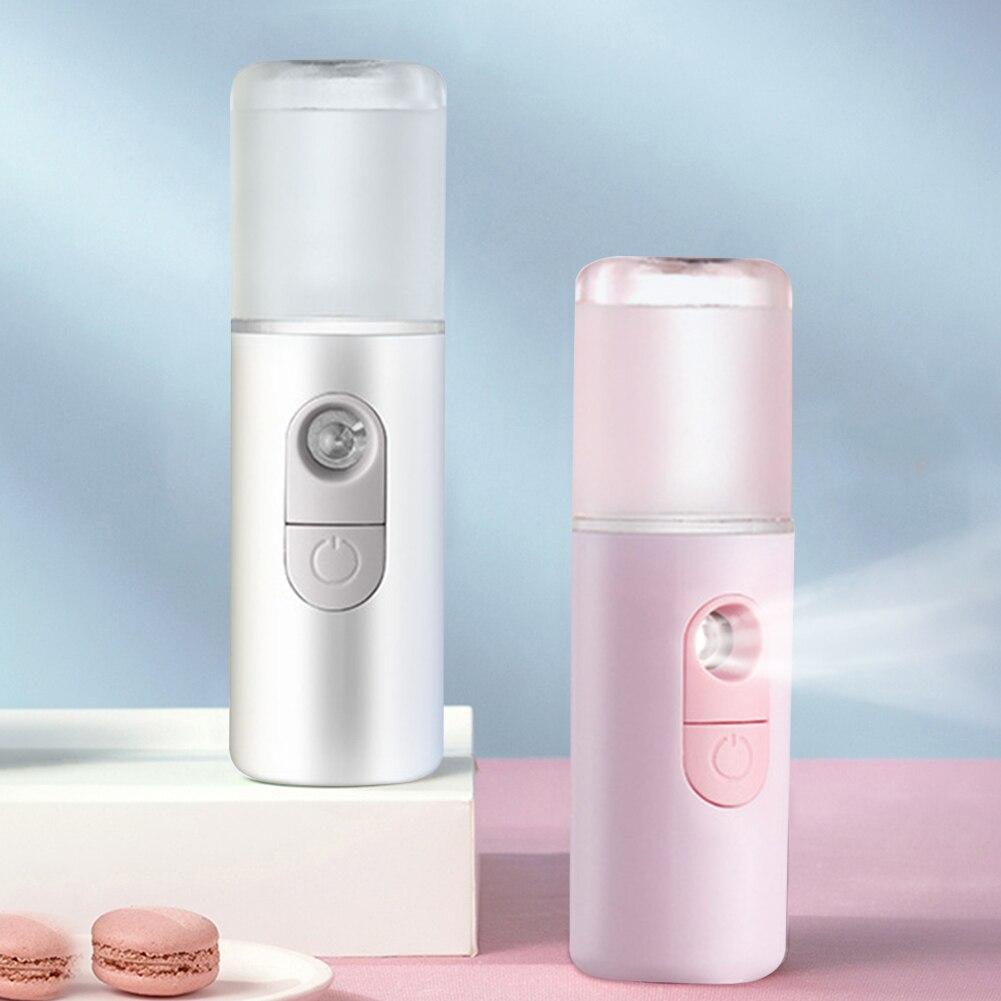 Нано увлажнитель мини увлажняющий косметический инструмент спрей для лица USB зарядка для личного лица здоровая защита часть Устройство для ухода за кожей лица      АлиЭкспресс