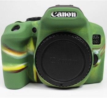 Adecuado para cámara Canon SLR EOS 850D bolsa Kiss X10i funda protectora de silicona Rebel T8i shell