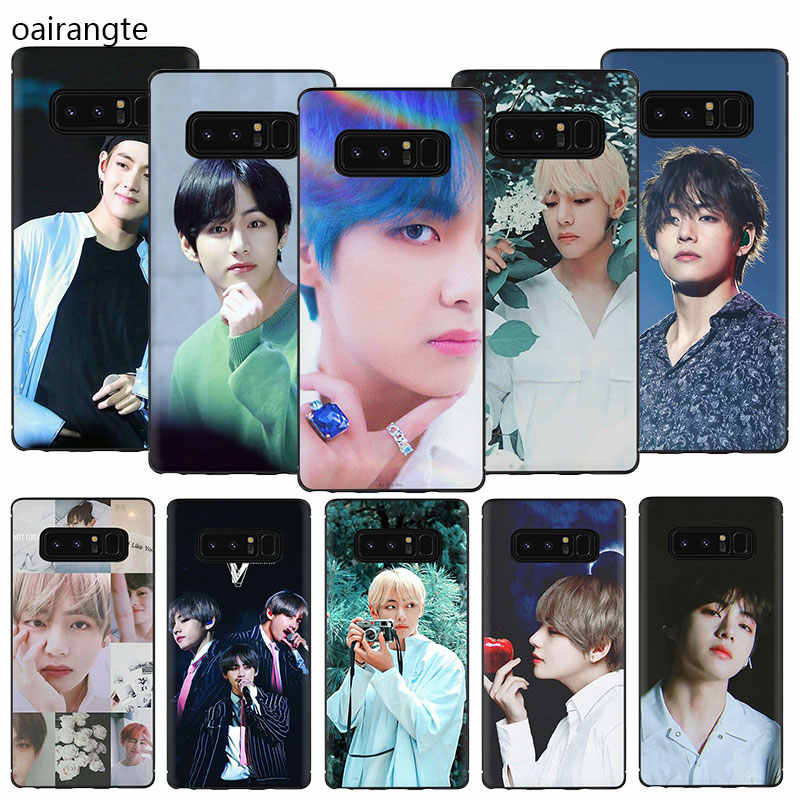 Kim V Taehyung TPU Telefoon Cover Case Voor Samsung Galaxy A2 A5 A6 7 8 9 2018 A10S 20S 20E 30S 40S 50S 60 70S