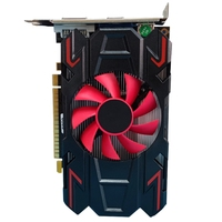 Computer Graphic Card for amd HD7670 4GB DDR5 128 Bit PCIE 2.0 HDMI-Compatible + VGA + DVI Interface with Cooling Fan 1