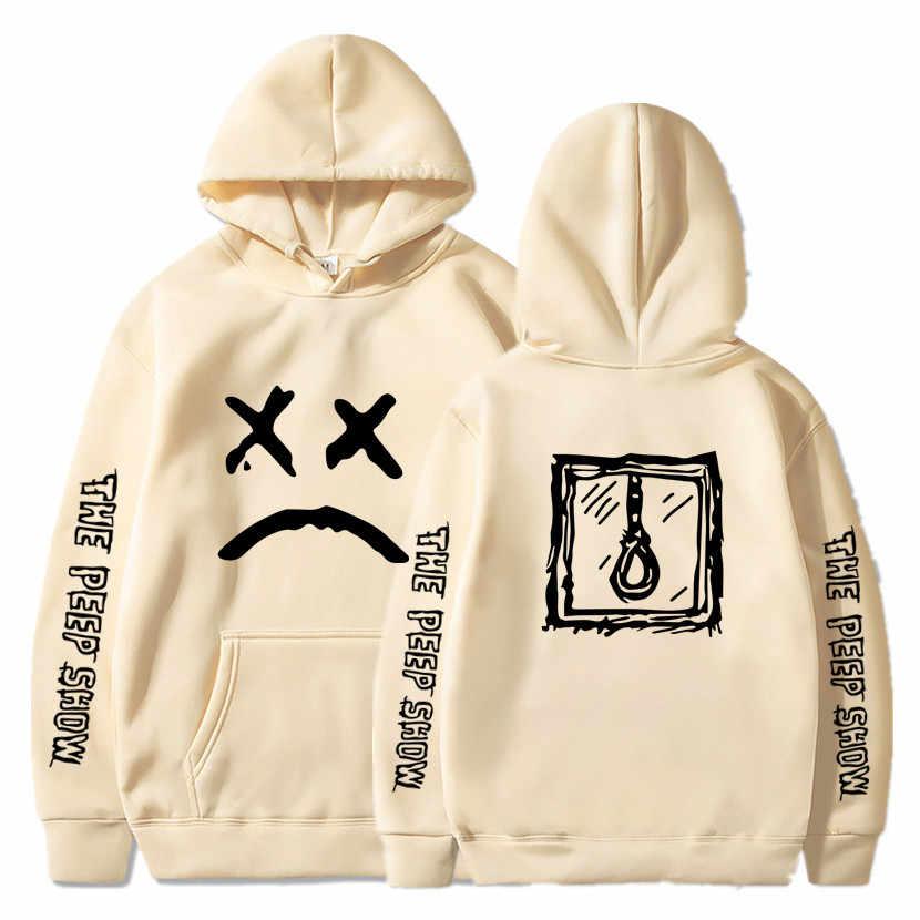 Lil peep hoodies love lil. peep 남성 스웨터 후드 풀오버 스웨터 남성/여성 sudaderas cry baby hood hoddie S-XXXL