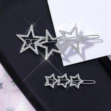 Hairpins Crystal Rhinestone Shining Girls Hollow Women New Hot Korea for Fashion Jewelry