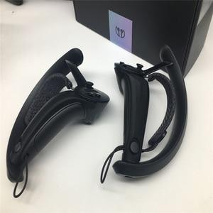Image 4 - 2pcs VR Controller Grip Cover Shell voor Klep Index VR Game Accessoires Anti Slip Case VR Controller Handvat beschermhoes