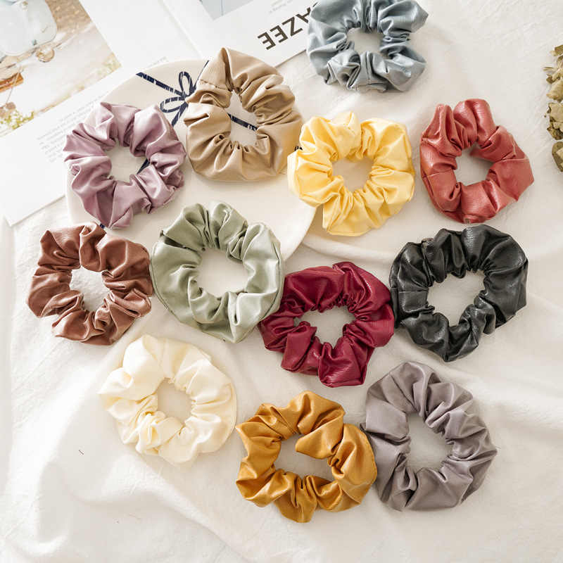 SUNNEE FACE Vintage scarf bowknot Women Hair Ponytail Holder, Rubber Serpentine Summer headbands Elastic Hair ties for Girls