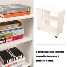 Simple Bedside Table Removable Bed Table With Four Wheels Fashion Modern Sofa Side Table Portable Storage Shelf Nightstand
