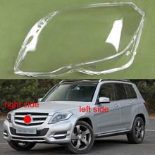For 2013 2014 2015 Mercedes Benz GLK200 GLK260 GLK300 Lampshade Headlmp Shell Headlight Transparent Mask Cover Lens