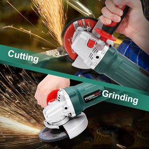 Image 4 - Electric Angle Grinder 1050W 125mm Variable Speed 3000 10500RPM Toolless Guard for Cutting Grinding Metal or Stone Work LANNERET